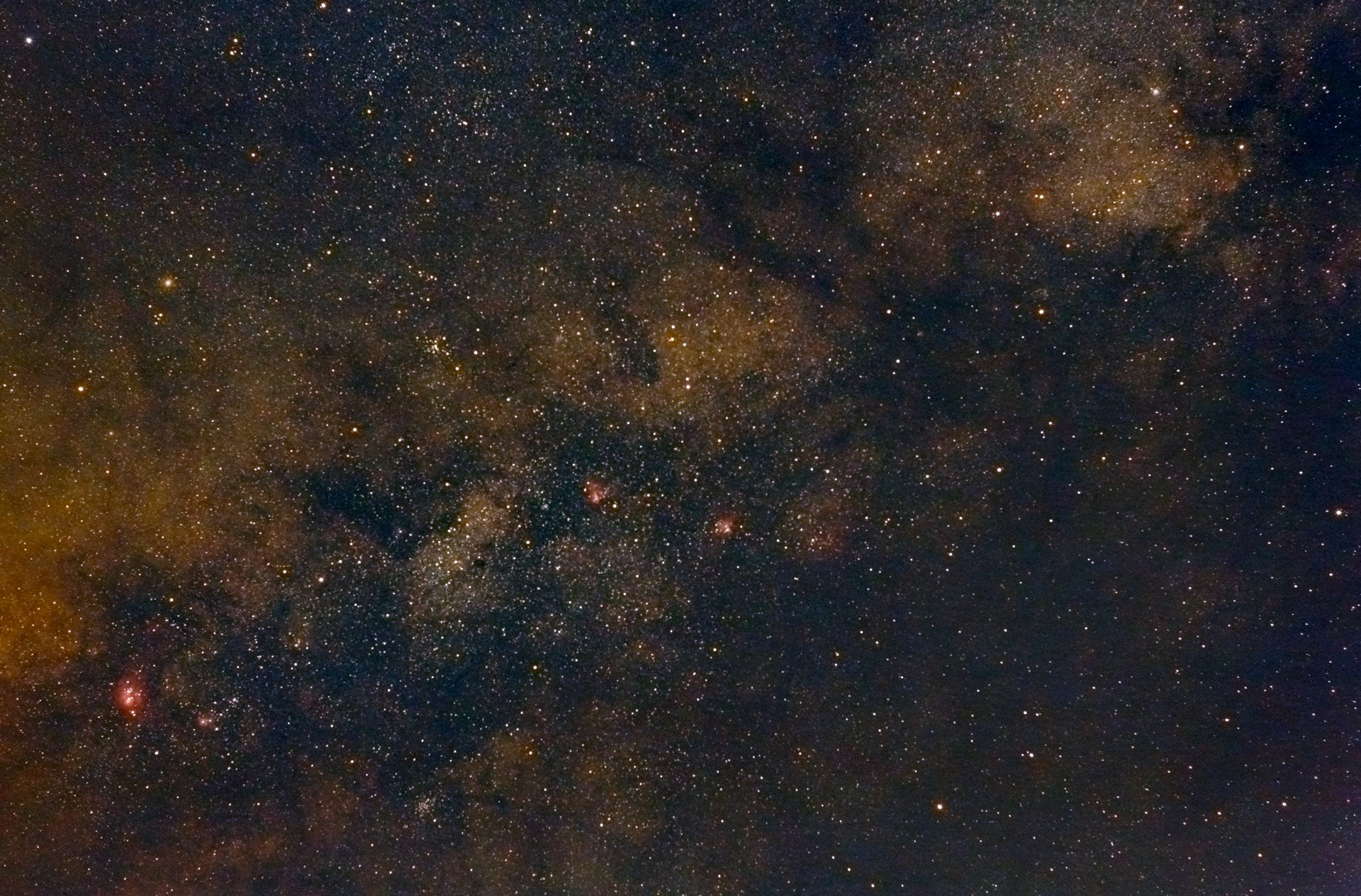 Zentrum der Milchstraße ( 30. Juli 2017 09:52:46 von Michael Quartz)