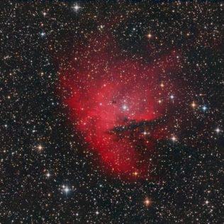 NGC281 – Pacmannebel