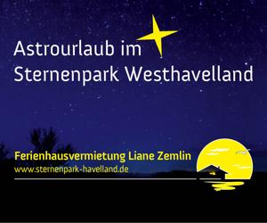 Astrourlaub im Sternenpark Westhavelland